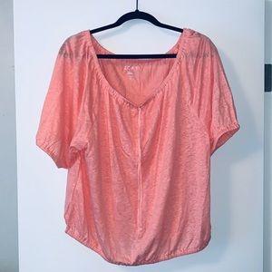 NWT Loft Linen Tunic T-shirt